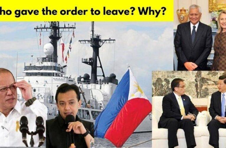 What Carpio Doesn't Tell You About Aquino, Trillanes, del Rosario and China