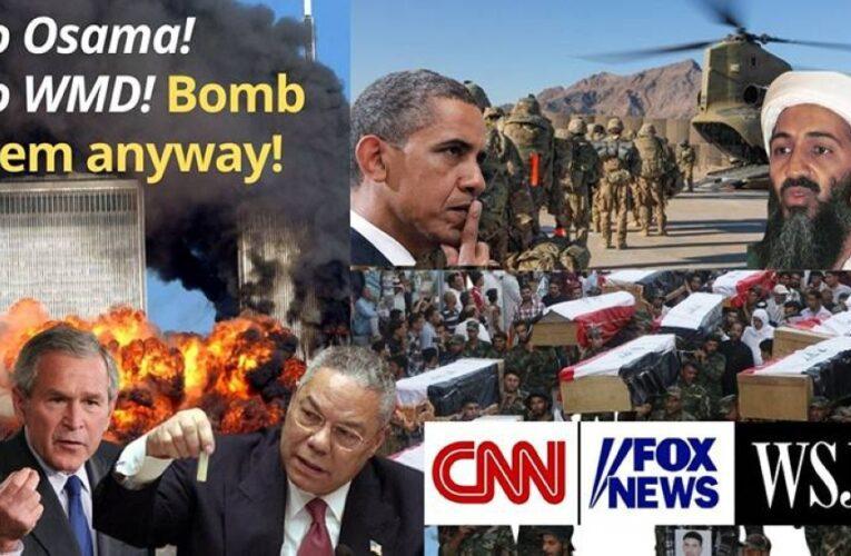US 9/11 blamed on Iraq; pin China next?